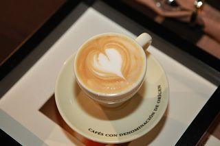 Taza de cappuccino